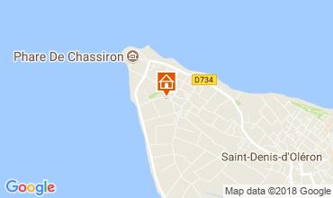 Carte Saint Denis d'Oléron Maison 115542