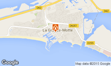 Carte La Grande Motte Studio 6031