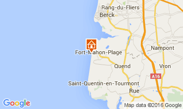 Carte Fort Mahon Maison 103725