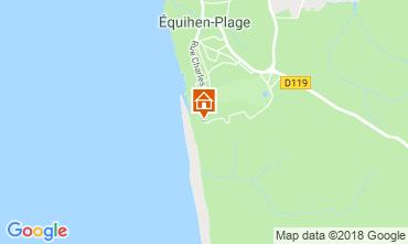 Carte Equihen-Plage Appartement 114040
