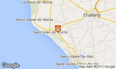 Carte Saint Jean de Monts Mobil-home 64069