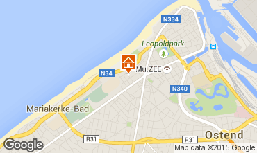 Carte Ostende Appartement 101727