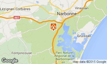 Carte Narbonne Maison 41535