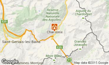 Carte Chamonix Mont-Blanc Studio 667
