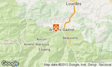 Carte Val d'Azun Gite 96908