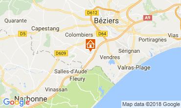 Carte Cap d'Agde Villa 114551