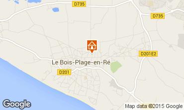 Carte Le Bois-Plage-en-Ré Maison 6979