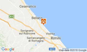 Carte Bellaria Igea Marina Appartement 31890