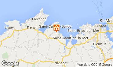 Carte Saint Cast Le Guildo Maison 77947
