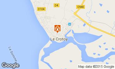 Carte Le Crotoy Maison 52518