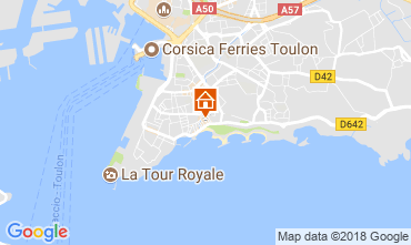 Carte Toulon Studio 98823