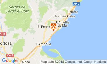 Carte La Ametlla de Mar Maison 102218
