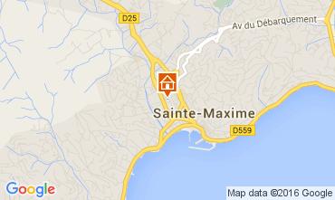 Carte Sainte Maxime Maison 103814