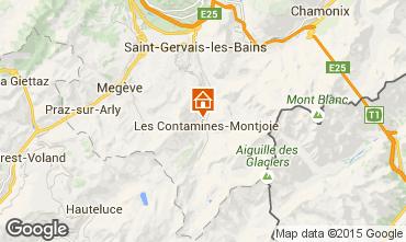 Carte Les Contamines Montjoie Chalet 16014