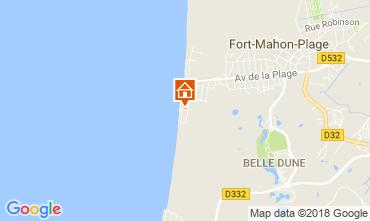 Carte Fort Mahon Appartement 113909