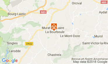Carte La Bourboule Appartement 115202