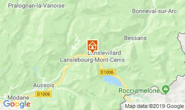 Carte Lanslebourg-Mont-Cenis Appartement 117103
