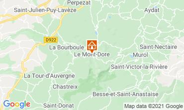 Carte Le Mont Dore Appartement 77814