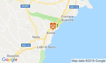 Carte Avola Villa 116015