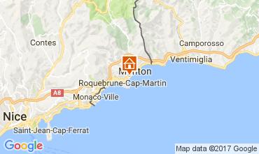 Carte Roquebrune Cap Martin Appartement 107713