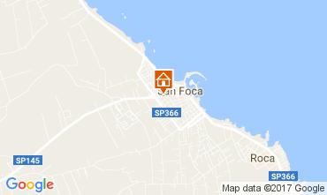 Carte San Foca Appartement 103288