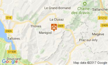 Carte Manigod-Croix Fry/L'étale-Merdassier Appartement 112072
