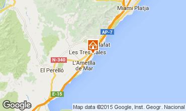 Carte La Ametlla de Mar Villa 9664