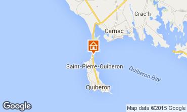 Carte Quiberon Maison 74918