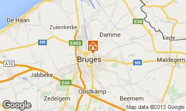 Carte Bruges Gite 90998