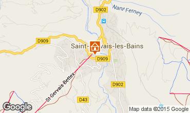 Carte Saint Gervais Mont-Blanc Appartement 90703