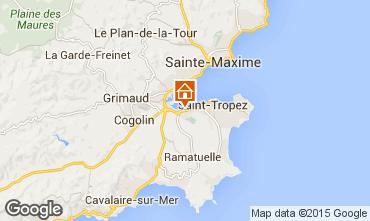 Carte Saint Tropez Maison 93661