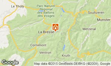 Carte La Bresse Hohneck Appartement 25854