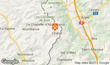 Carte Châtel Chalet 73656
