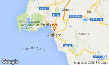 Carte Alghero Appartement 84156
