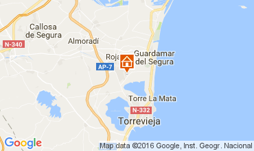Carte Torrevieja Villa 107228