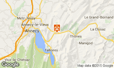 Carte Annecy Chalet 845