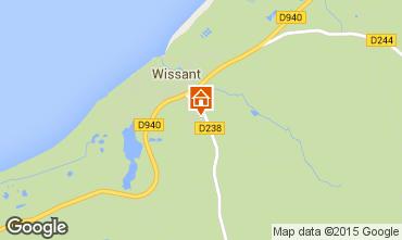 Carte Wissant Villa 31263