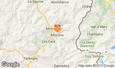 Carte Morzine Chalet 58010