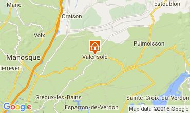 Carte Valensole Gite 105053