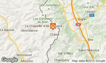 Carte Châtel Chalet 58875