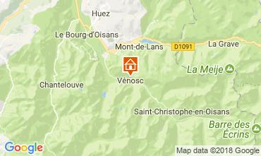 Carte Les 2 Alpes Appartement 59663