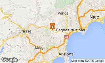 Carte Roquefort-les-Pins Gite 83734