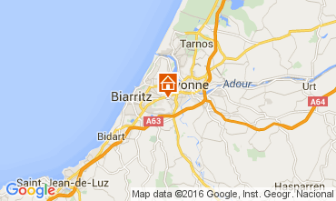 Carte Biarritz Maison 96696