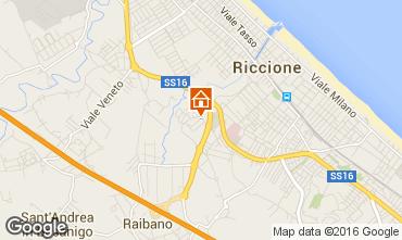 Carte Riccione Appartement 40072
