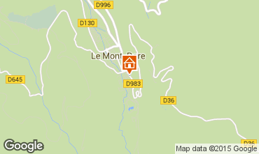 Carte Le Mont Dore Appartement 56666