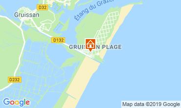 Carte Gruissan-Plage Chalet 102261