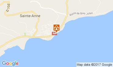 Carte Sainte Anne (Guadeloupe) Appartement 73124