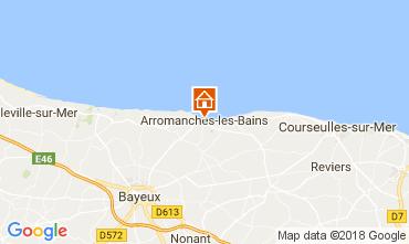 Carte Arromanches Gite 113148
