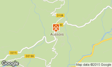 Carte Aussois Appartement 80820