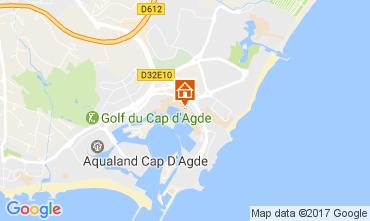 Carte Cap d'Agde Studio 85670